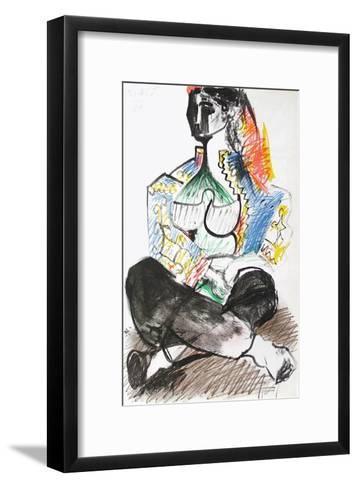 Carnet de Californie 14-Pablo Picasso-Framed Art Print