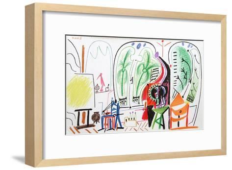 Carnet de Californie 31-Pablo Picasso-Framed Art Print