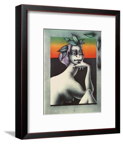 Haven II-Paul Wunderlich-Framed Art Print