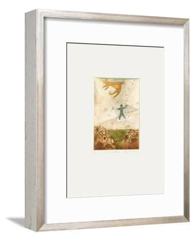 Voyage Au Del? De La Terre IV-Ren? Carcan-Framed Art Print