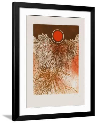 Nuit marine-Mario Prassinos-Framed Art Print