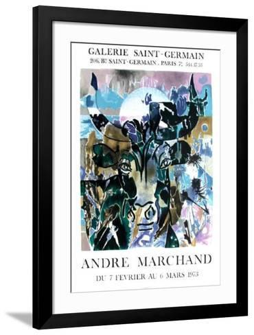 Exposition Galerie Saint Germain-Andr? Marchand-Framed Art Print
