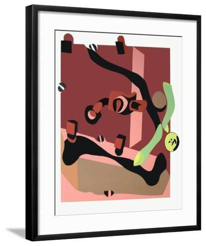 Composition-Herve Telemaque-Framed Art Print
