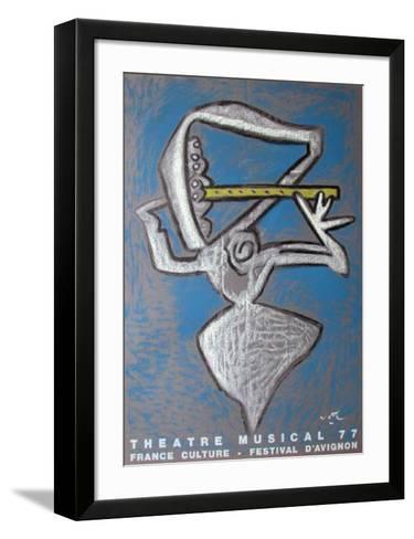 Festival D'Avignon-Roberto Matta-Framed Art Print