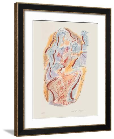 Sonnets De Louise Labb? 05-Andr? Masson-Framed Art Print