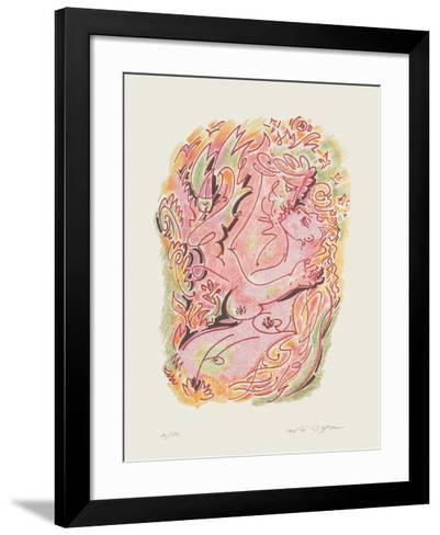 Sonnets De Louise Labb? 06-Andr? Masson-Framed Art Print