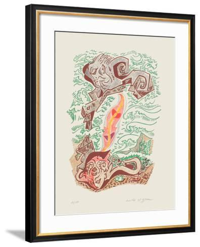 Sonnets De Louise Labb? 07-Andr? Masson-Framed Art Print