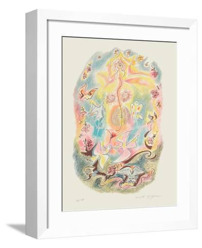 Sonnets De Louise Labb? 09-Andr? Masson-Framed Art Print