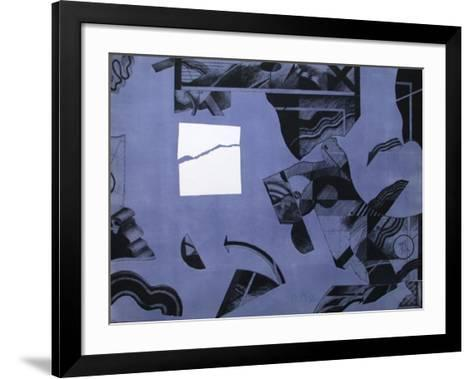 Parcours Flêché-Florence Cantie-Framed Art Print