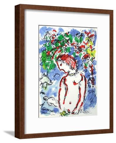 Jour De Printemps-Marc Chagall-Framed Art Print