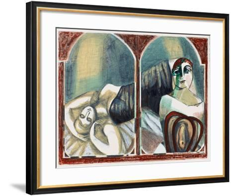 Apr?s le tango-Carlos Torrallardona-Framed Art Print