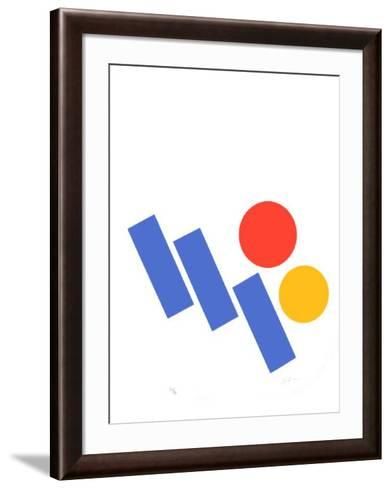 Tryptique I-Albert Chubac-Framed Art Print