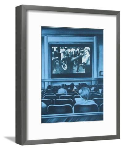 Bicentenaire Kit - Usa 76 - 05-Jacques Monory-Framed Art Print