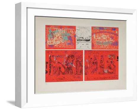 Mes Vacances D'?t? 73-Moo Chew Wong-Framed Art Print
