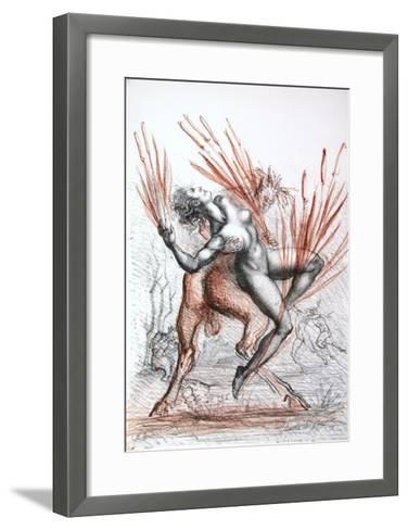 Metamorfosi di Ovidio 08-Marcello Tommasi-Framed Art Print