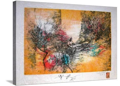 Papier De Riz - Sur Le Lac-Lebadang-Stretched Canvas Print