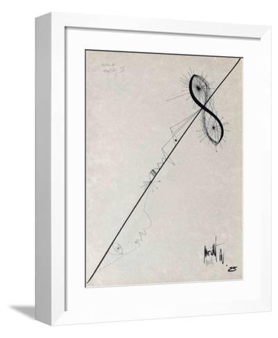 L'Âge Du Verseau : L'ElIIpse-Jean Cocteau-Framed Art Print