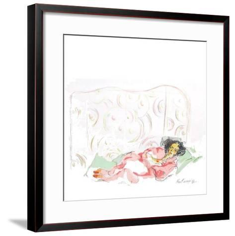 Cinq IIthographies IV-Serge Kantorowicz-Framed Art Print