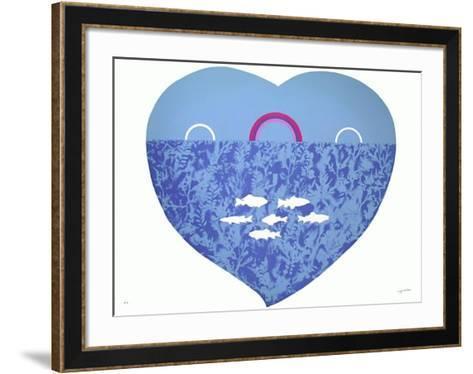 Coeur-Milvia Maglione-Framed Art Print