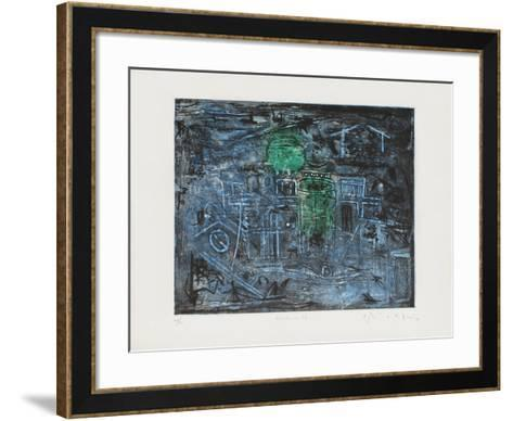 Ecriture 96-Moo Chew Wong-Framed Art Print