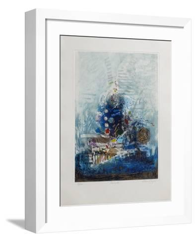 Pr?lude-Nissan Engel-Framed Art Print
