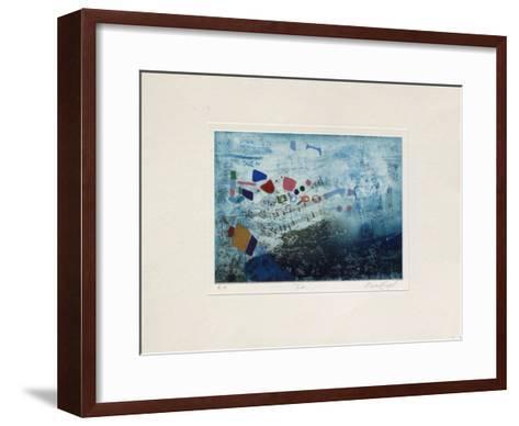 Notes : La-Nissan Engel-Framed Art Print