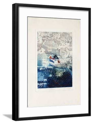 Secret-Nissan Engel-Framed Art Print