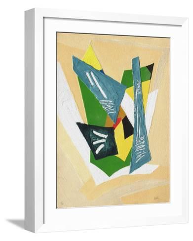 Drap?e De D?sirs-Bernard Alligand-Framed Art Print