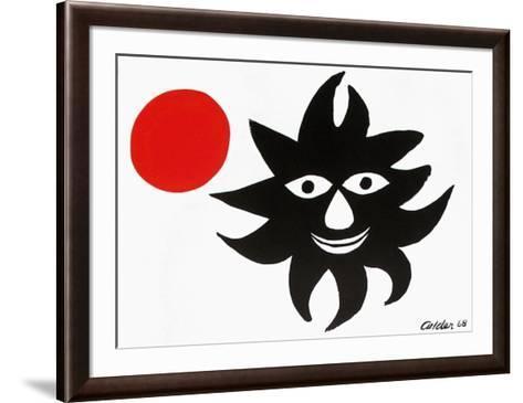 Le Soleil Et La Lune-Alexander Calder-Framed Art Print