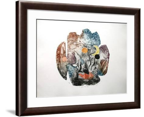 La Grotte D'AII Baba-Osanne-Framed Art Print