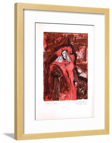 Carlos II El Hachizado-Alberto Gironella-Framed Art Print