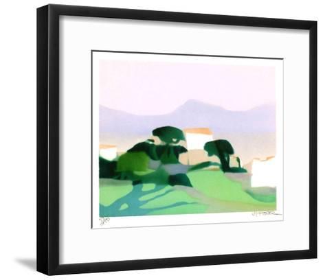 Lumi?re d'?t?-Alfred Defossez-Framed Art Print