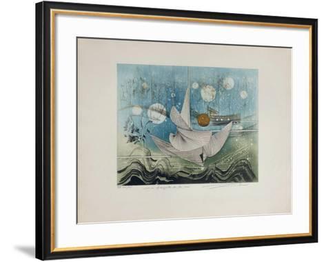 Les Fiancailles De La Mer--Framed Art Print