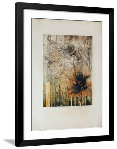 Les Oiseaux De La Temp?te--Framed Art Print