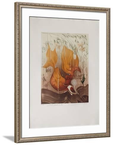 Les FloraIIes Du D?sir--Framed Art Print