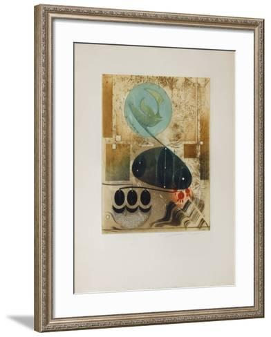 La R?compense De L'Alchimiste--Framed Art Print