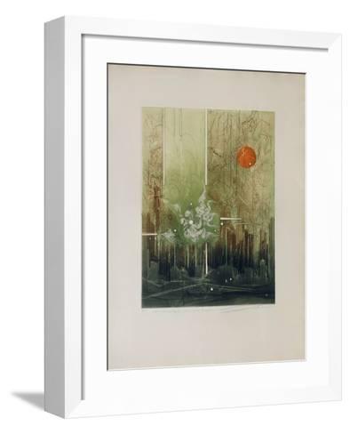 Math?matique Pour Une ?vasion--Framed Art Print