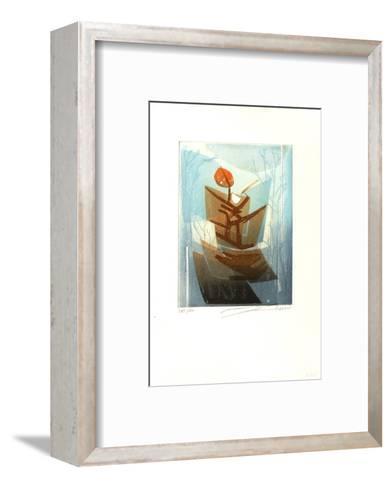 Composition D--Framed Art Print