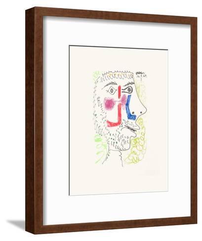 Le Go?t du Bonheur 08-Pablo Picasso-Framed Art Print
