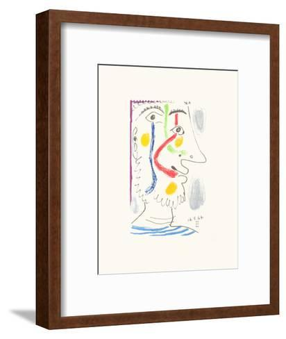 Le Go?t du Bonheur 10-Pablo Picasso-Framed Art Print