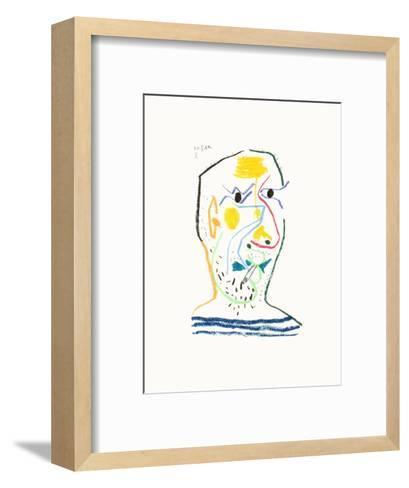 Le Go?t du Bonheur 15-Pablo Picasso-Framed Art Print