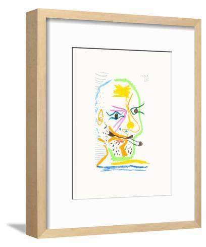 Le Go?t du Bonheur 21-Pablo Picasso-Framed Art Print