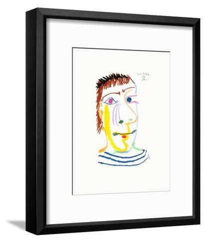 Le Go?t du Bonheur 23-Pablo Picasso-Framed Art Print