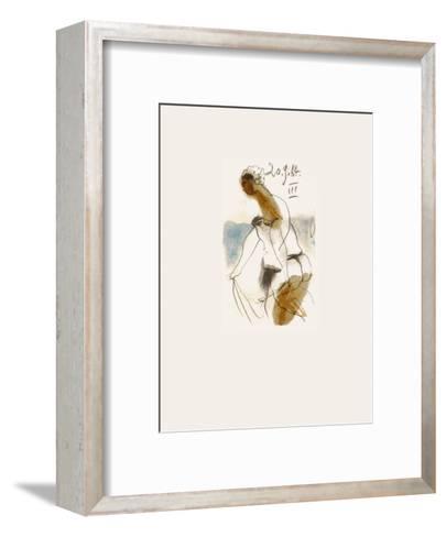 Le Go?t du Bonheur 32-Pablo Picasso-Framed Art Print