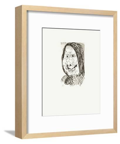 Le Go?t du Bonheur 36-Pablo Picasso-Framed Art Print