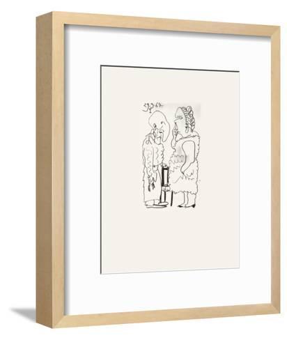 Le Go?t du Bonheur 39-Pablo Picasso-Framed Art Print