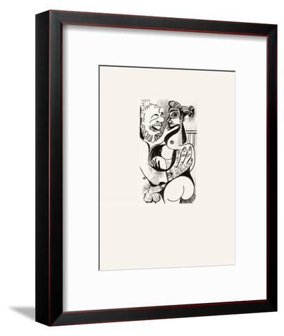 Le Go?t du Bonheur 42-Pablo Picasso-Framed Art Print