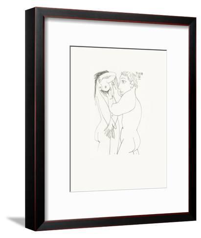 Le Go?t du Bonheur 53-Pablo Picasso-Framed Art Print