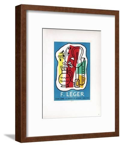 AF 1953 - Galerie Louis Carré-Fernand Leger-Framed Art Print