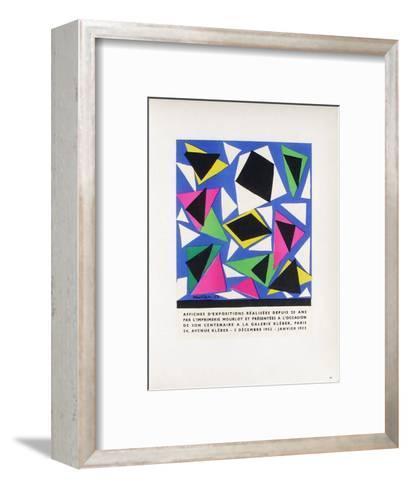 AF 1953 - Mourlot A La Galerie Kleber-Henri Matisse-Framed Art Print